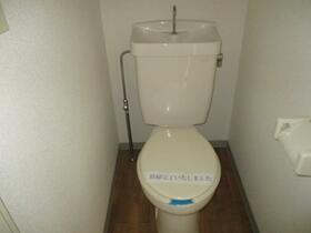 Be Glad 0302号室のトイレ