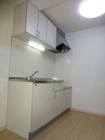 ペアアサイB 102号室のキッチン