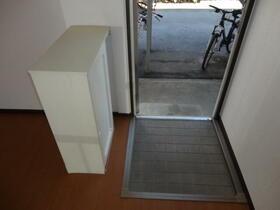サンハイツ安田 102号室の玄関