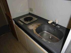 メゾン・ド・シャトー 0107号室のキッチン