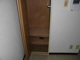 メゾン・ド・シャトー 0107号室の収納