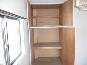 北都レジデンス 202号室の収納