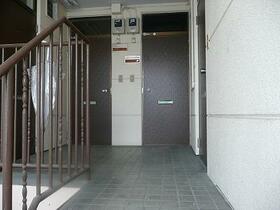 北都レジデンス 202号室の玄関
