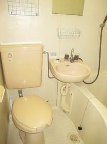 ホーユウコンフォルト相模原 0405号室のトイレ