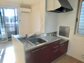 メゾン・ド・ルミナス C 102号室のキッチン