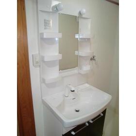 グランドハイツ中郷 302号室の洗面所