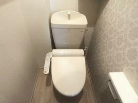 アメニティー 201号室のトイレ