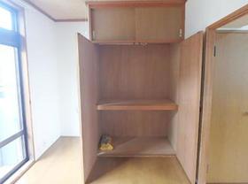 ハイツコウガクA 203号室の収納