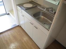 コスモタウン相模原 303号室のキッチン