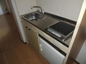 パーセル 203号室のキッチン