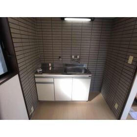 リジェール井野 101号室のキッチン