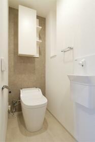 Nステージ東小金井 311号室のトイレ