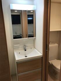 ハーミットクラブハウスル・シェル 202号室の洗面所