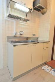 メゾン・ド・マルス 0105号室のキッチン