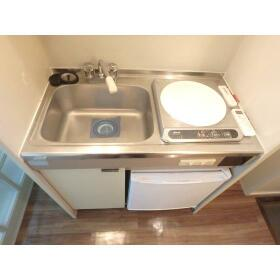 グリーンコーポ鶴ヶ峰 A103号室のキッチン