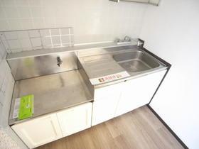 カーサビアンカ A 201号室のキッチン