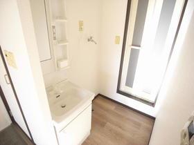 カーサビアンカ A 201号室の洗面所