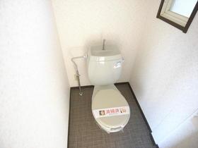カーサビアンカ A 201号室のトイレ