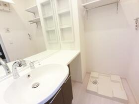(仮)D-room野木町 105号室の洗面所