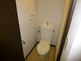 スマイリー岡沢 403号室のトイレ