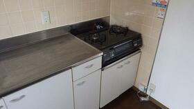第3たぶろをビル 301号室のキッチン