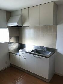 スリーエス・コーポ 202号室のキッチン