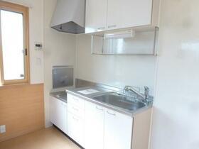 ステイブル A 102号室のキッチン