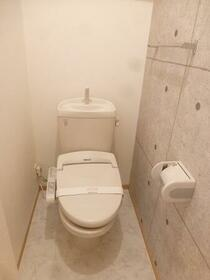 ステイブル A 102号室のトイレ
