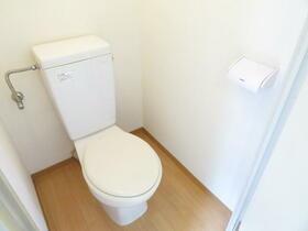 ハイム青山 202号室のトイレ