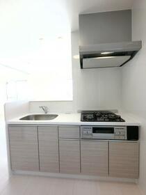 Famille Maebashi 305号室のキッチン