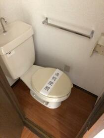 シティハイム ササヤマD 202号室のトイレ