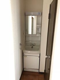 シティハイム ササヤマD 202号室の洗面所