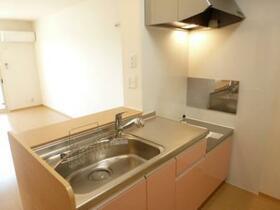 サンホープ倉 A 103号室のキッチン