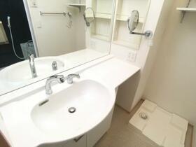 サンホープ倉 A 103号室の洗面所