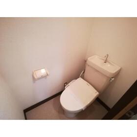 クラランス新鹿沼 旧石川アパート 101号室のトイレ
