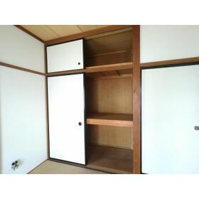 クラランス新鹿沼 旧石川アパート 101号室の収納