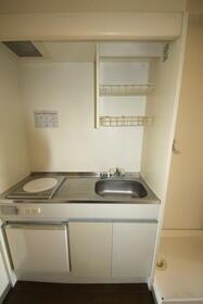 ミキビル 208号室のキッチン