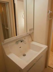 アクアベーネ B 105号室の洗面所