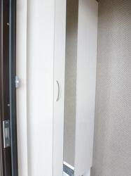 アクアベーネ B 105号室の玄関