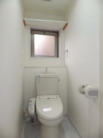 メリディアン清瀬 201号室のトイレ