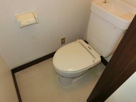 花園ハイツ 105号室のトイレ