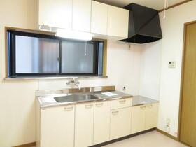 アレストモリタ 203号室のキッチン