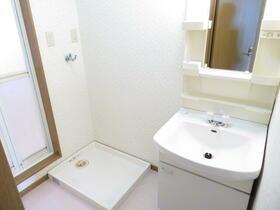 アレストモリタ 203号室の洗面所