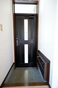 ヴィレッジ貝塚 205号室の玄関