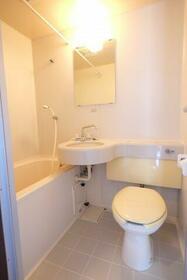 ヴィレッジ貝塚 205号室のトイレ
