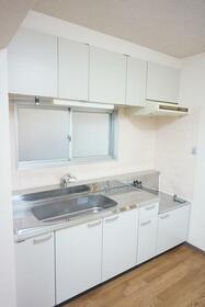 ガーデンシティ渋谷 101号室のキッチン