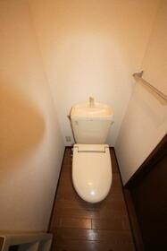 サニーヒル広瀬B棟 102号室のトイレ