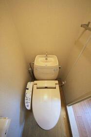 トップフラッツD棟 102号室のトイレ