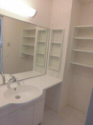 WIT K's 101号室の洗面所