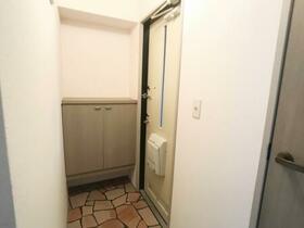 メゾン・メルヴェーユ B 201号室の玄関